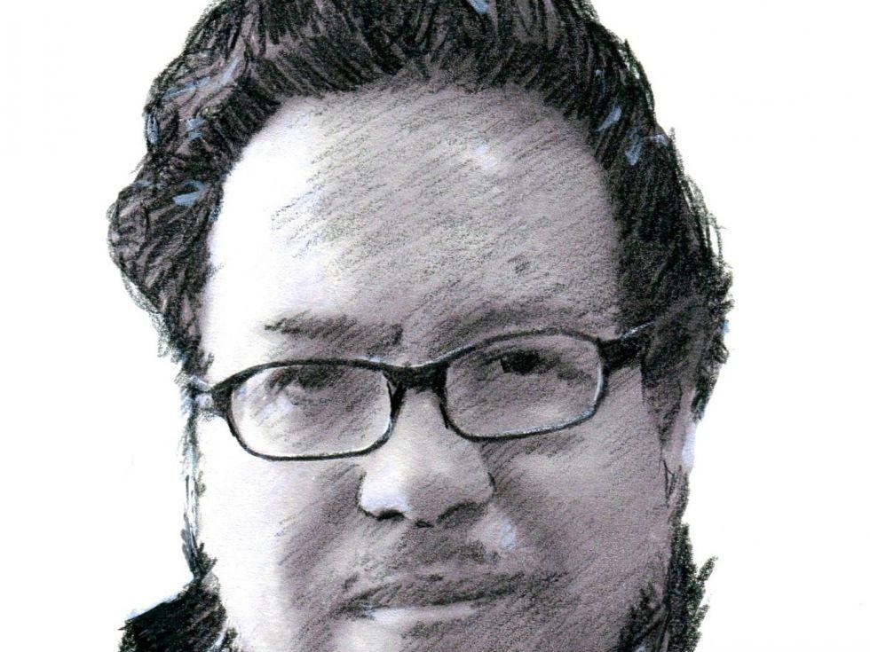 Retrato de Gabriel  Chávez Casazola