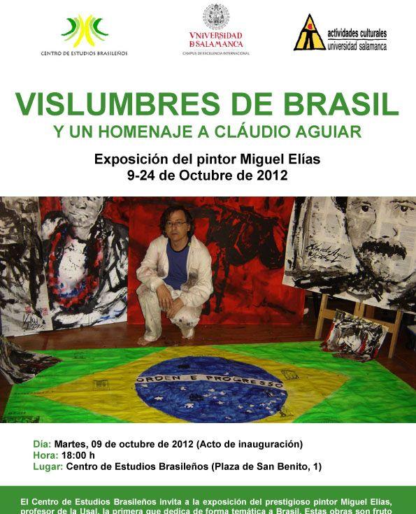 Cartel Vislumbres de Brasil