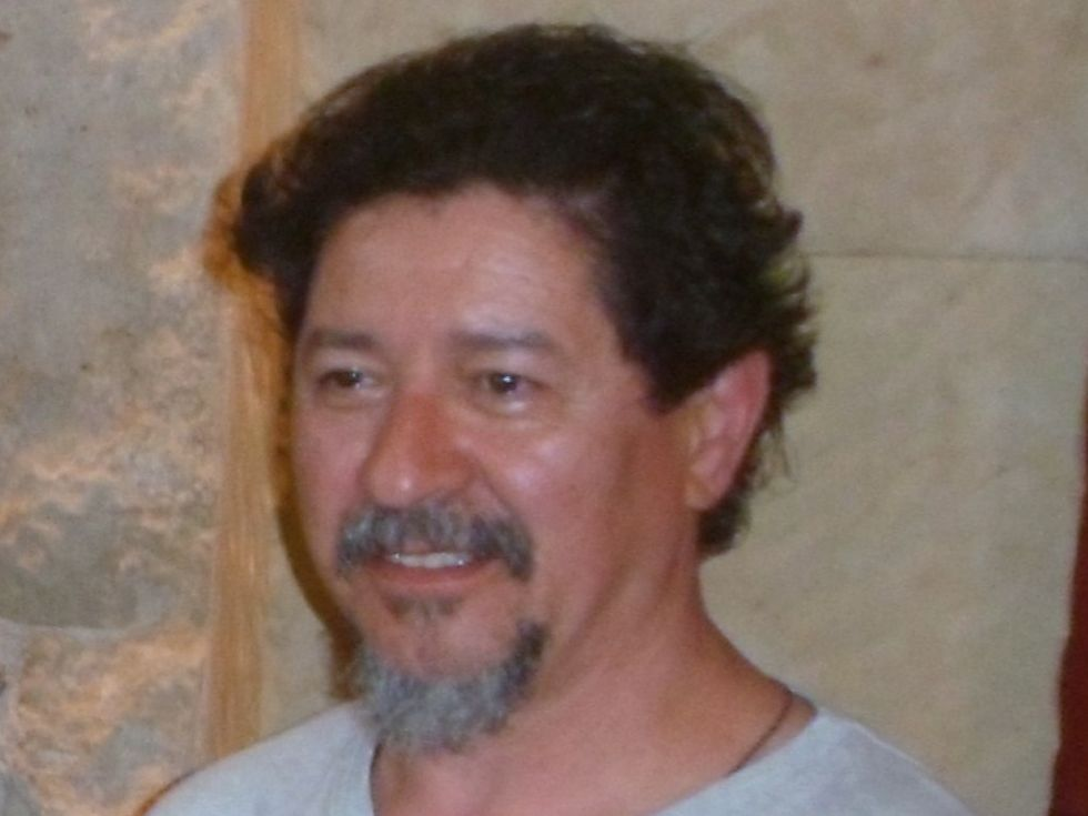 Xenaro  Ovín en Salamanca (junio 2013)