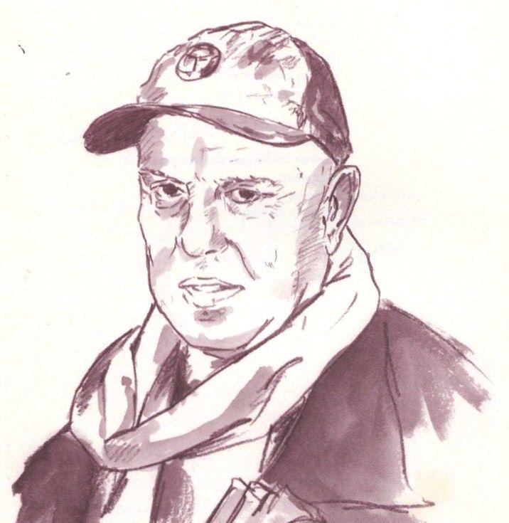 Mario Merlino (retrato de Miguel Elías )