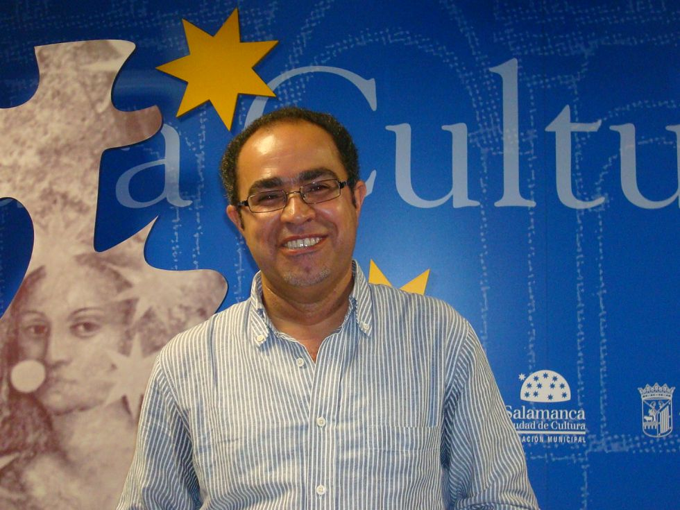 Abdul Hadi Sadoun en Salamanca (Foto de Jacqueline Alencar)