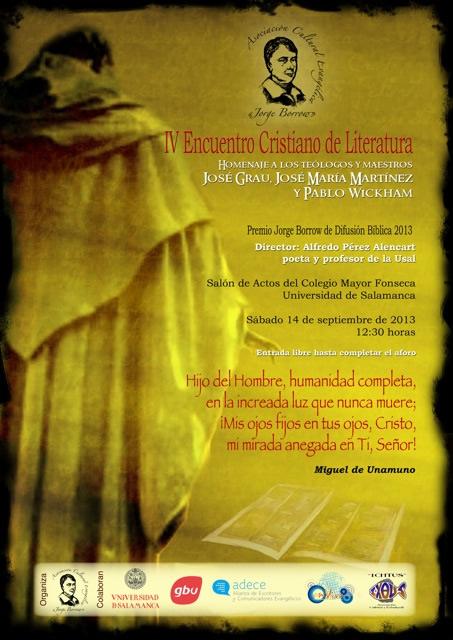 IV Encuentro Cristiano de Literatura (Cartel)