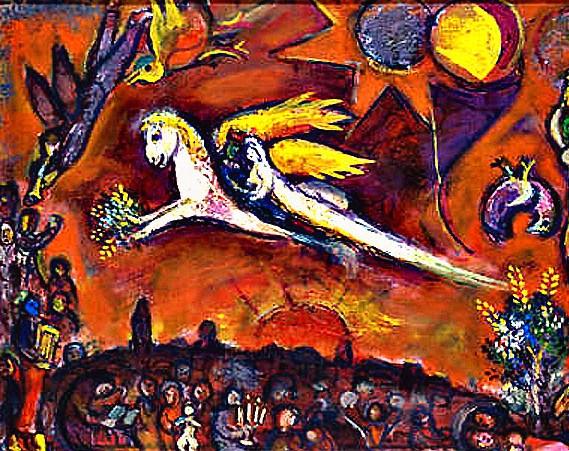 1 El Cantar de los Cantares,  por Marc Chagall