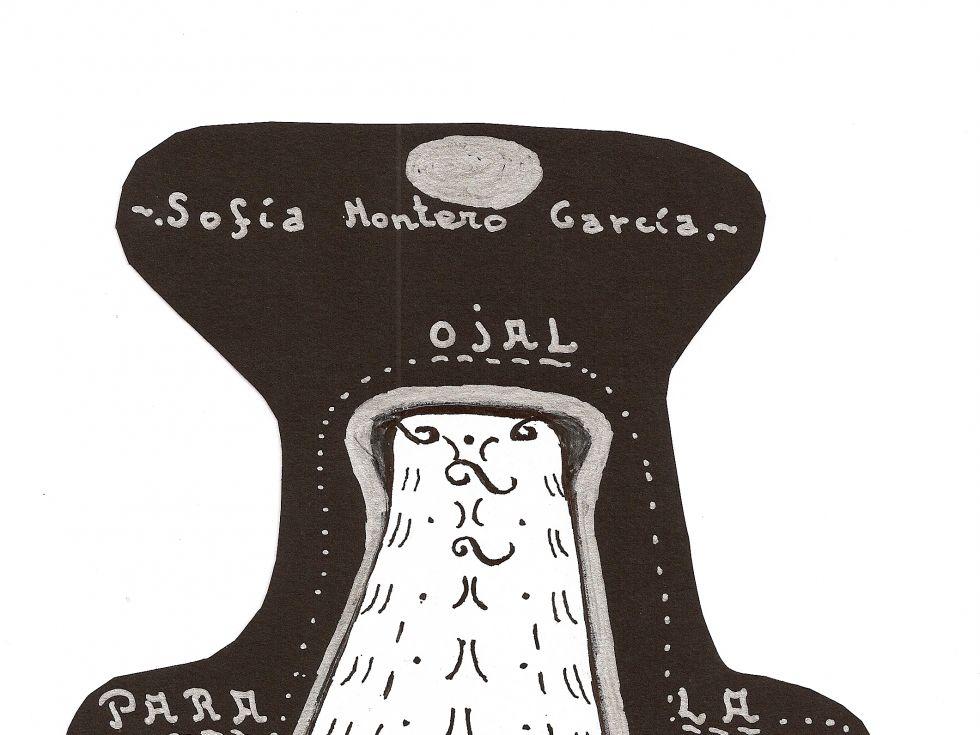 Portada OJAL PARA LA MAGIA, Poemario de SOFÍA Montero García