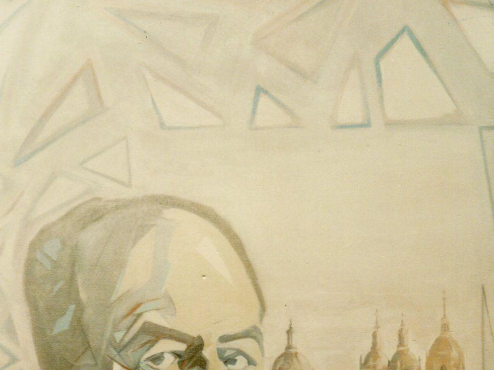 1 Retrato pintado por el francés Sylvain Malet, entonces residente en Salamanca