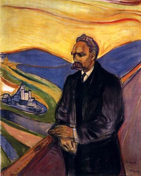 1 Nietzsche por Munch