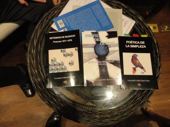 3 Los tres libros de Humberto Avilés