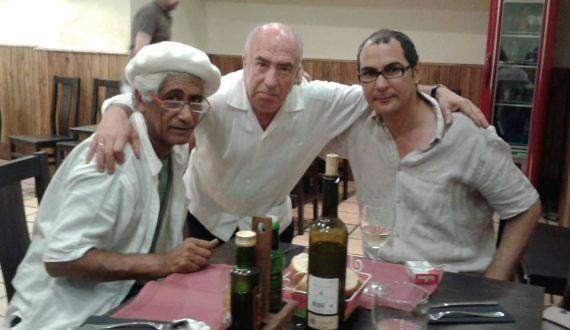 4 Zaher Al-Ghafri, Ángel Guinda y Ahmad Yamani