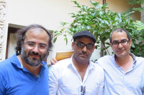 5 Alfredo Pérez Alencart, Ali Al Hazmi y Ahmad Yamani
