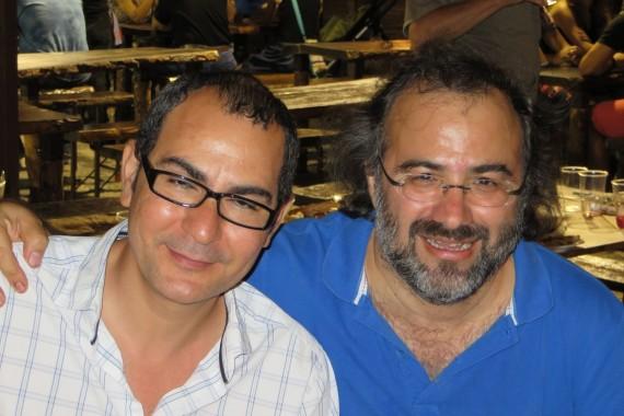 6 Ahmad Yamani y Alfredo Pérez Alencart