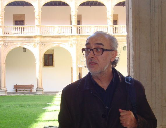 1 Jorge Fragoso en Salmanca (2013, foto de Jacqueline Alencar)