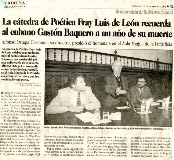 14 Crónica de Cristina Valladares, de 1998