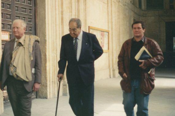 4 Gastón Baquero con Bladimir Zamora (1993, foto de A. P. Alencart)