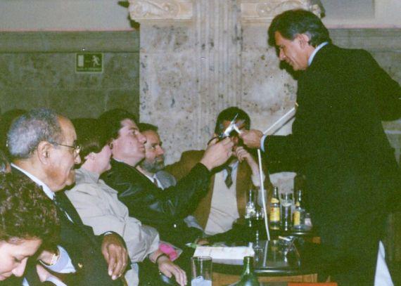 6 Magias de Gavilondo para el mago Gastón (foto de A. P. Alencart, 1993)