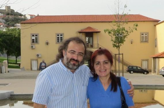 5 Alfredo Pérez Alencart y Jacqueline, en Castelo Branco (foto de Carlos Semedo, 2014)