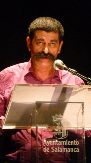 1 Juan Mares en el XVII Encuentro de Poetas Iberoamericanos (foto de Pablo de la Peña)