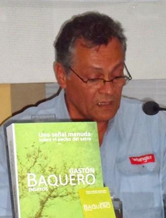 2 Remigio Ricardo Pavón durante la presentación en la Feria de La Habana