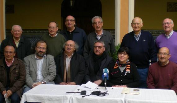5 Miembros del jurado y representantes de la Hernandad de Cofradías de Peñaranda, presidida por Moisés Pérez