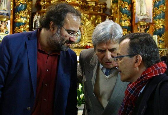 3 Alfredo Pérez Alencart, António Salvado y Miguel Elías, en Partida (foto de Milola Gouveia)
