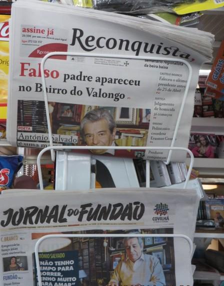 3 Noticias de Salvado en los periódicos de la Beira Interior