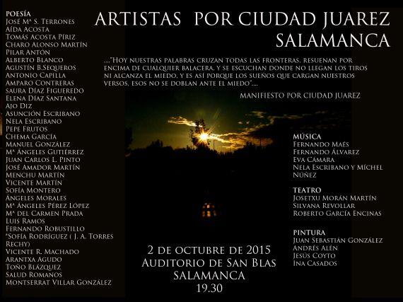 Cartel Crear en Salamanca