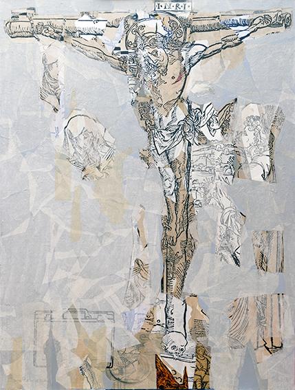 14 Crucifixión, de Luis Cabrera (Cuba)