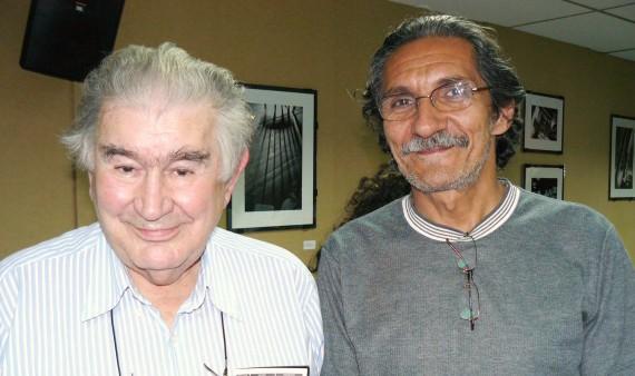1 Antonio Gamoneda y Alberto Hernández (Foto de A. H. Cobo)