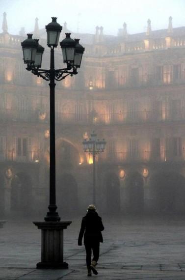 1 Salamanca, Plaza Mayor (Fotografía de José Amador)