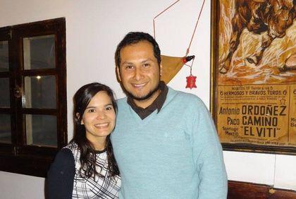 13 Abdiel Espinosa y su esposa Alejandra