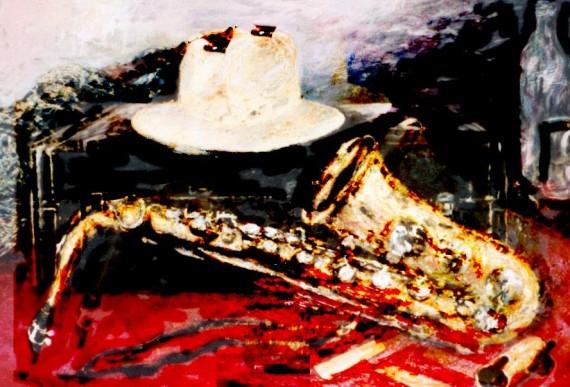13 Mi saxo rojo, de Alejo Lopomo (Chile)