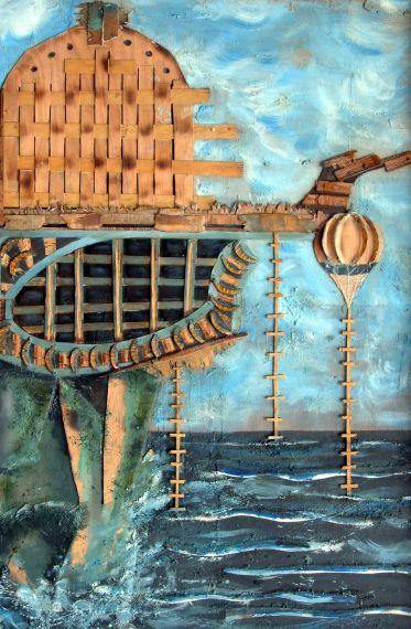 17 Acantilado de las sirenas, de Emilio Sánchez (España)