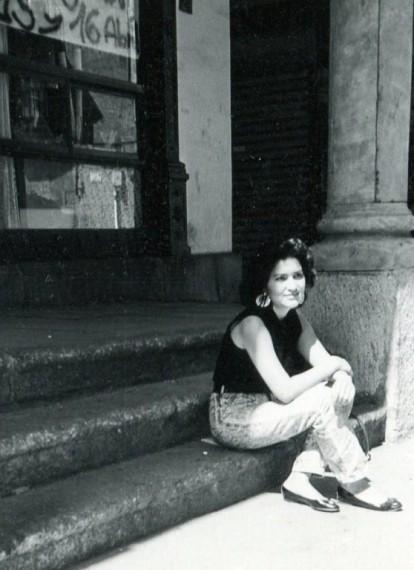 5 Jacqueline Alencar en El Corrillo (Foto de A. P. Alencart, 1988)