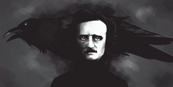 1 Edgar Allan Poe y el cuervo