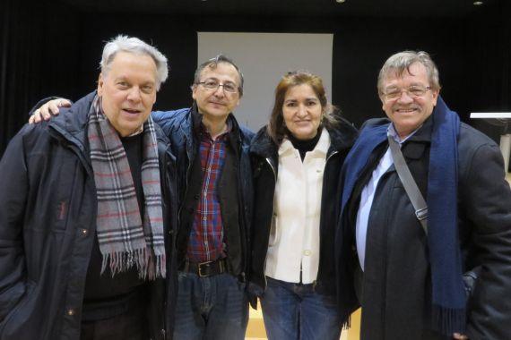 15 Antonio Pedrero, Elías, Jacqueline Alencar y Carralero