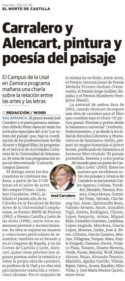 Noticia publicada en El Norte de Castilla