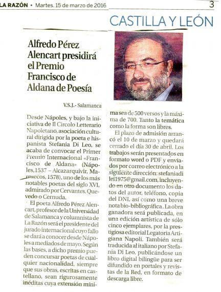 Noticia publicada en La Razón(1)