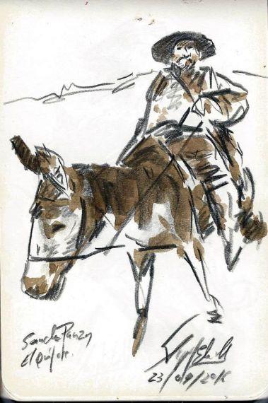11 Sancho, dibujo de Miguel elías (23-4-2016)