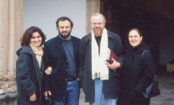 3 Jacqueline Alencart, Alfredo Pérez Alencart, Eduardo Chirinos y Jannine Montauban, en el Fonseca