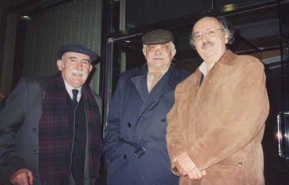 15 Luis Frayle, Pío E. Serrano y Antonio Colinasi