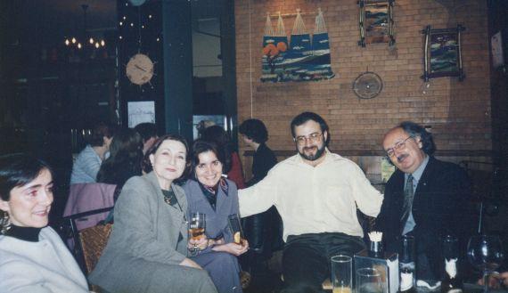 21 Asunción Escribano, Jacqueline, María José, Alfredo y Antonio
