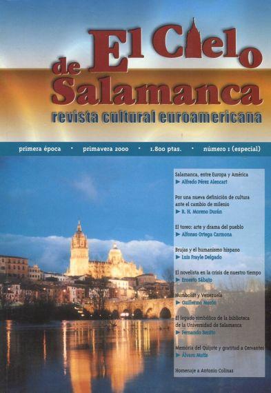 24 El cielo de salamanca, primavera de 2000. Primer homenaje a Colinas en Salamanca