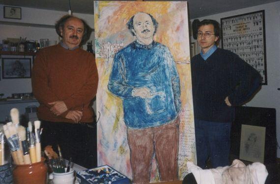 4 Colinas en el estudios del pintor Miguel Elías (J. Alencar)
