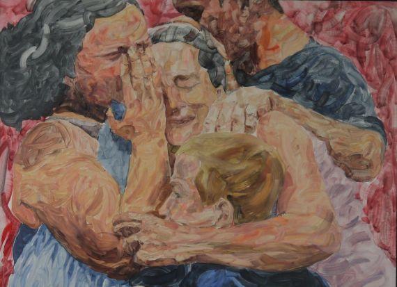 0 Dolor en la guerra 'Familia', del pintor español Fernando García Almeida