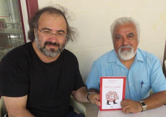 11 Alfredo Pérez Alencart y el poeta y profesor José Ben-Kotel
