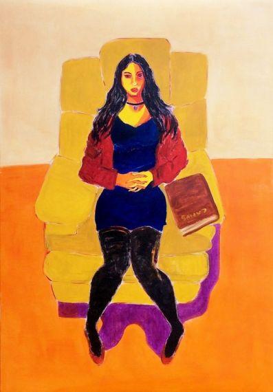 8-mujer-y-libro-oleo-sobre-papel-entelado-100-x-70-cm-2016