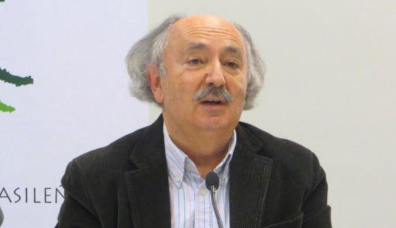 1 Antonio Colinas durante un acto del XVIII Encuentro de Poetas Iberoamericanos (foto d eJacqueline Alencar)