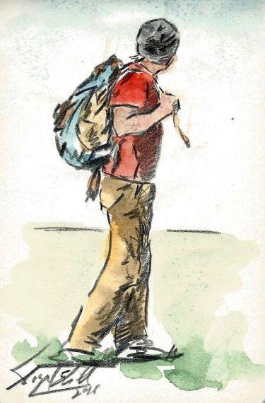 5 Viajero, de Miguel Elías