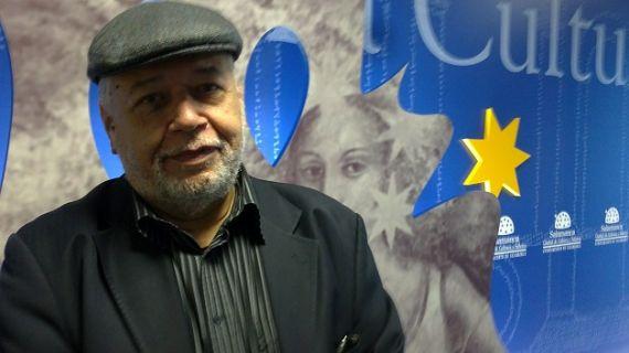 1 José Pulido en la Sala de la Palabra, XV Encuentro Iberoamericano de Poetas, Salamanca, 2012