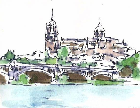 12 Vista de Salamanca, de Miguel Elías