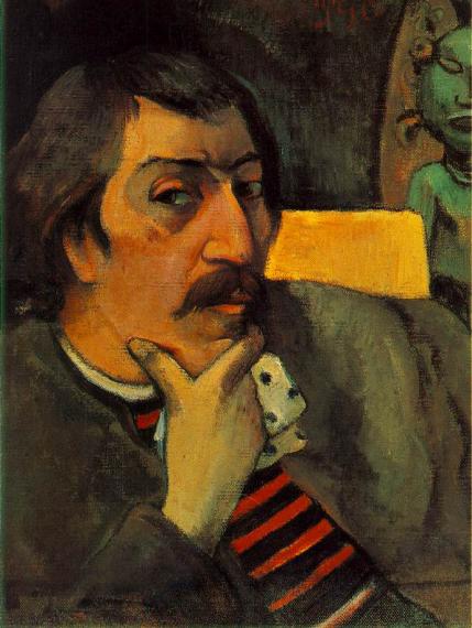 2 Gauguin, Autorretrato